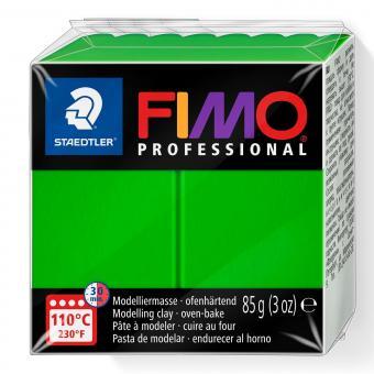 Plastelina de modelaj Fimo profesional 85g sapgreen Cod 8004-5