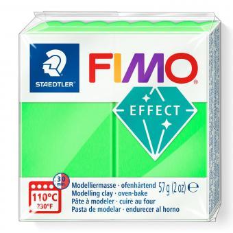 Plastilina Fimo efect neon green Cod 8010-501