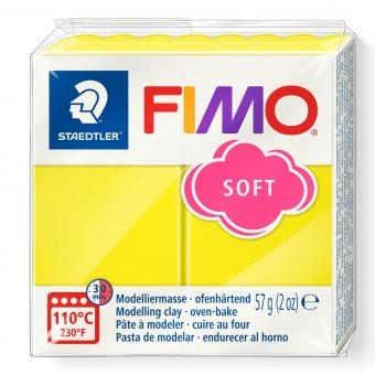 Plastilina Fimo soft lemon Cod 8020-10