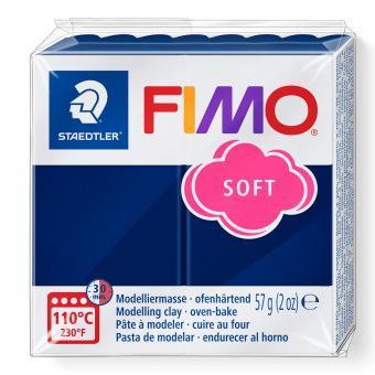 Plastilina Fimo soft windsor blue Cod 8020-35