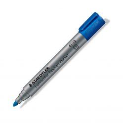 Marker flipchart ST-356-9 Staedtler varf rotund, Albastru grosime 2 mm