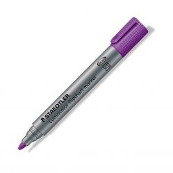 Marker flipchart ST-356-6 Staedtler varf rotund, Violet grosime 2 mm