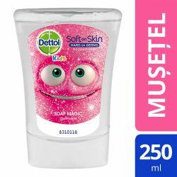 Rezerva sapun Dettol Kids No Touch Musetel DT-3139241 pentru dispenser senzor automat 250 ml