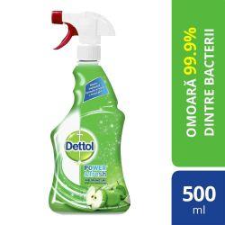 Spray multifunctional Dettol DT-3034237 Trigger Power & Fresh, Sparkling Refreshing Green Apple, 500 ml