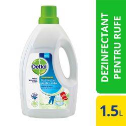 Dezinfectant pentru haine Dettol DT-3054629 fara parfum, 1.5L
