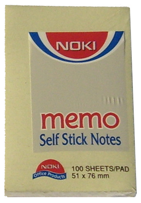 Notes Adeziv Noki 76*50