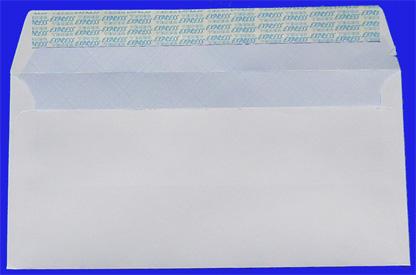 Plic Dl 80g Alb-siliconic 110*220 mm