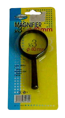 Lupa X3 40mm