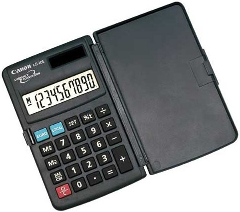 Calculator de buzunar CANON LS-10E 10 digiti
