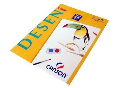 Bloc Desen Canson A4 160g/mp 16 file