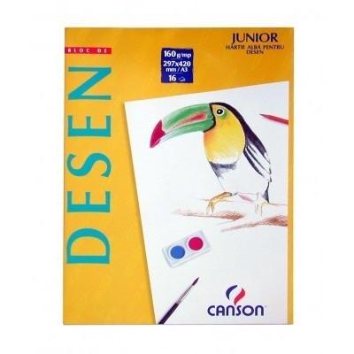 Bloc Desen Canson A4 120g/mp 16 file