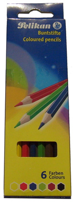 Creioane Color Pelikan 6/set
