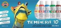 Tempera Koh-i-noor 10/set 16ml