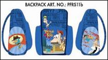 Ghiozdan Clasa 1/4 Disney Phineas & Ferb a