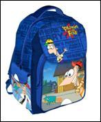 Ghiozdan Clasa 1/4 Disney Phineas & Ferb +++Q