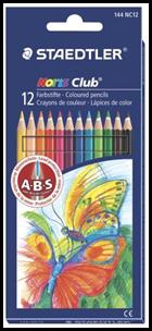Creioane color Noris 12 / set 144 NC12