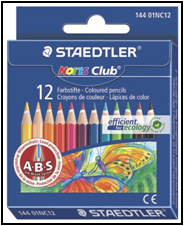 Creioane color Noris 1/2 12/set