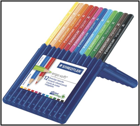 Creioane color Ergosoft 12/set 157 SB12