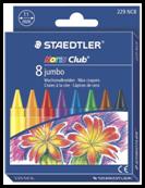 Creioane color cerate Jumbo 8/set 229 nc8