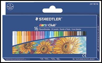Creioane color pastel-ulei 16/set 241NC16