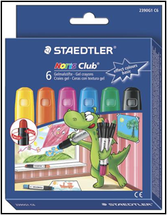 Creioane color gel 6 /set 2390 G1