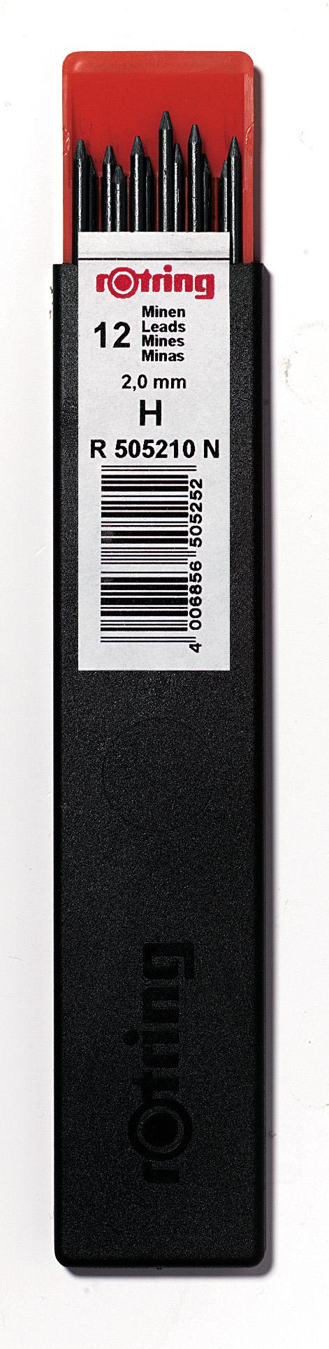 Mina Creion Mecanic Rotring 2 mm duritate 2H