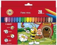 Set 20 culori carioca BEES Koh-i-Noor