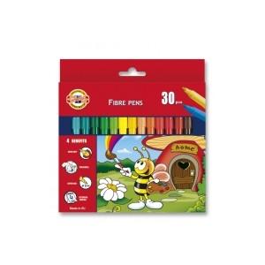 Set 30 culori carioca BEES Koh-i-Noor