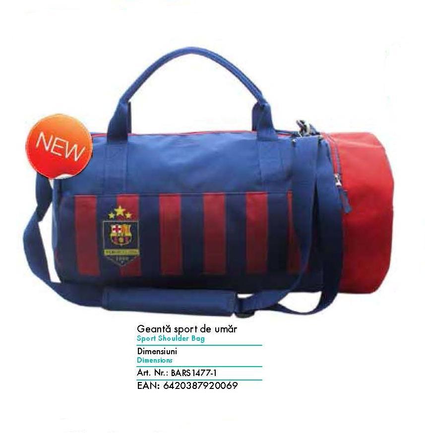 Geanta de umar Sport Barcelona, Pigna model BARS1477-1