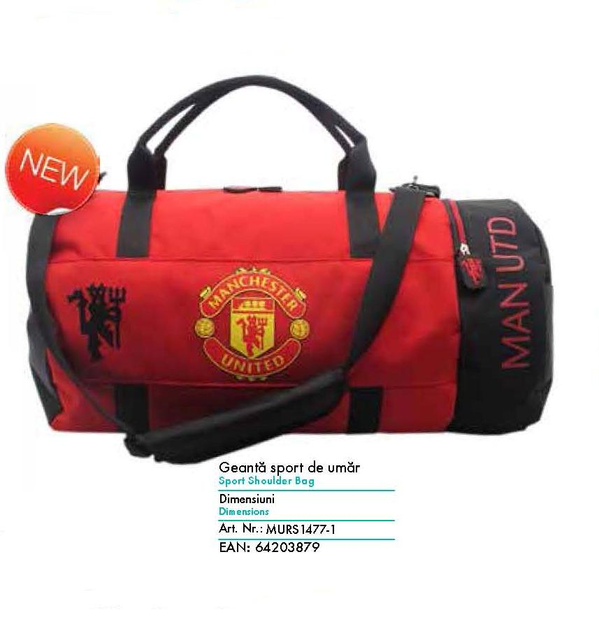 Geanta de umar Sport Manchester United, Pigna model MURS1477-1