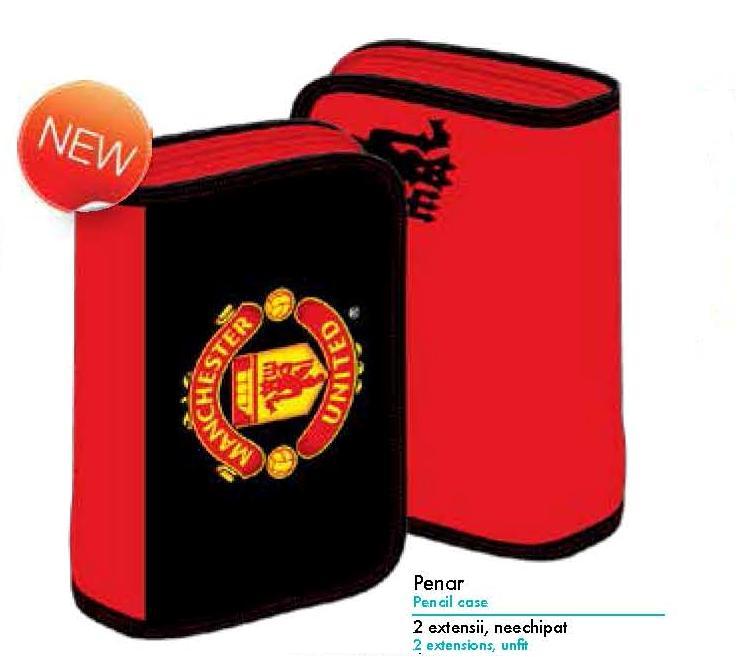Penar Neechipat Pigna Manchester United, 1 fermoar, 2 extensii interioare  Model MUPE1401-1