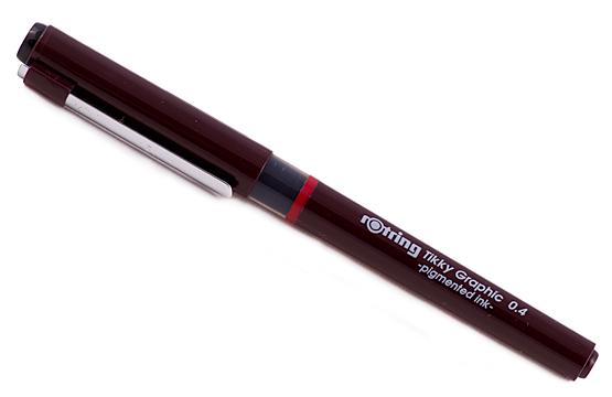 Tikky graphic liner calibrat tus 0.4 mm , culoare neagra tk12