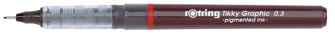 Tikky graphic liner calibrat tus 0.3 mm , culoare neagra tk12