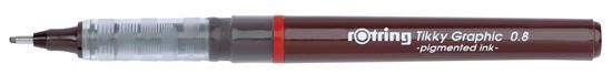 Tikky graphic liner calibrat tus 0.8 mm , culoare neagra tk12