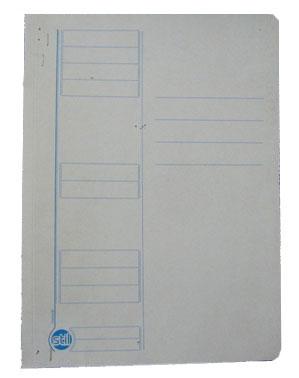 Dosar carton alb cu sina 230 gr, carton duplex