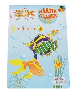 Hartie Glasse Lucioasa A4 10 coli/top