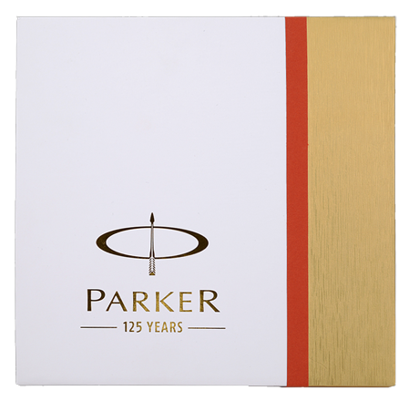 Aniversary - Notes Red  Parker Ambalaje Optionale Cadou Cutie Cadou Set Parker