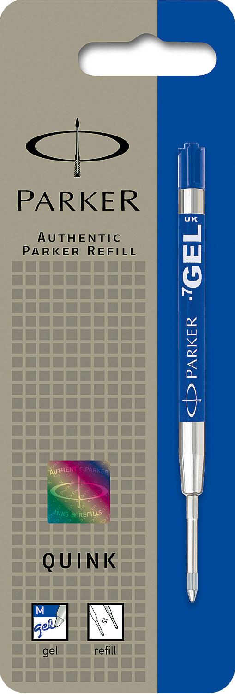 Albastru  Parker Mina Pix Gel