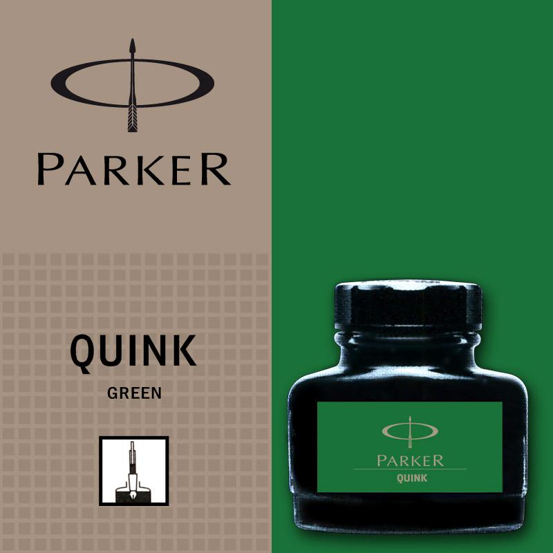 Verde permanent  Parker Calimara Quink
