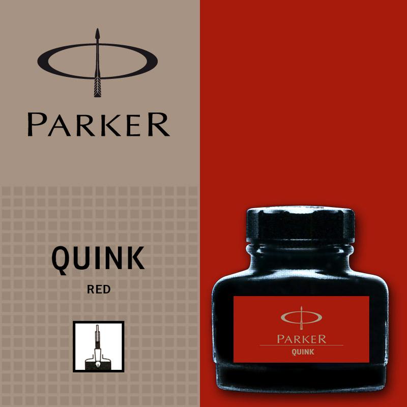 Rosu permanent  Parker Calimara Quink