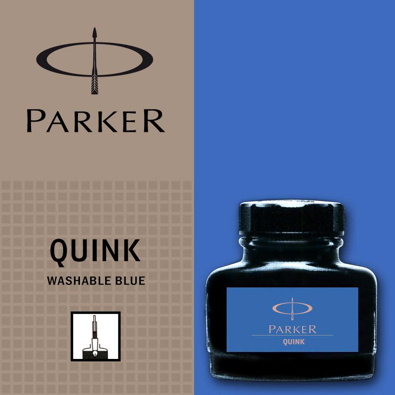 Albastru lavabil  Parker Calimara Quink