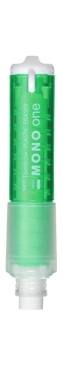 Radiera Round Tip  Tombow Mono One Green