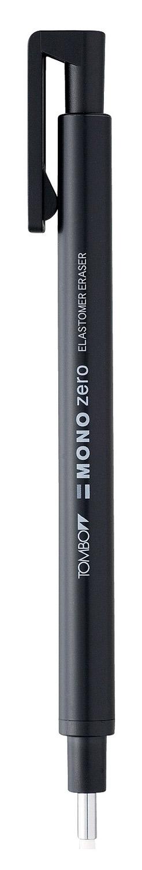 Radiera Round Tip  Tombow Mono Zero Black