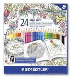 Set 24 creioane Ergosoft Adult Coloring Design