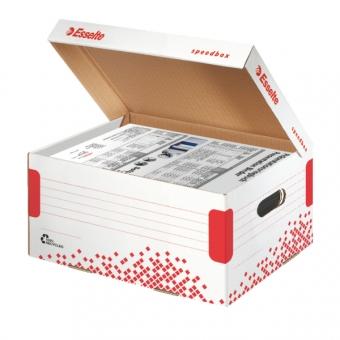 Cutie de arhivare ESSELTE Speedbox cu capac, A4