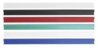 Bagheta A4 de legat documente,  8 mm, 10/set, DONAU - alb