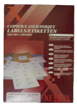 Etichete Autoadezive 4/pag Xerox