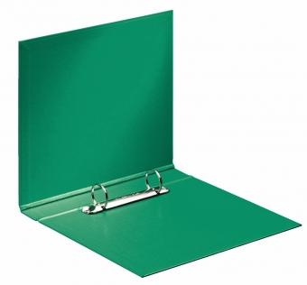 Caiet mecanic ESSELTE, PP/PP, A5, mecanism 2RR, inel 25mm - Vivida verde