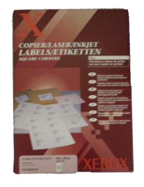 Etichete Autoadezive 16/pag Xerox
