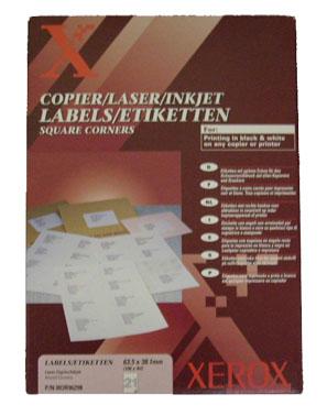 Etichete Autoadezive 21/pag Xerox